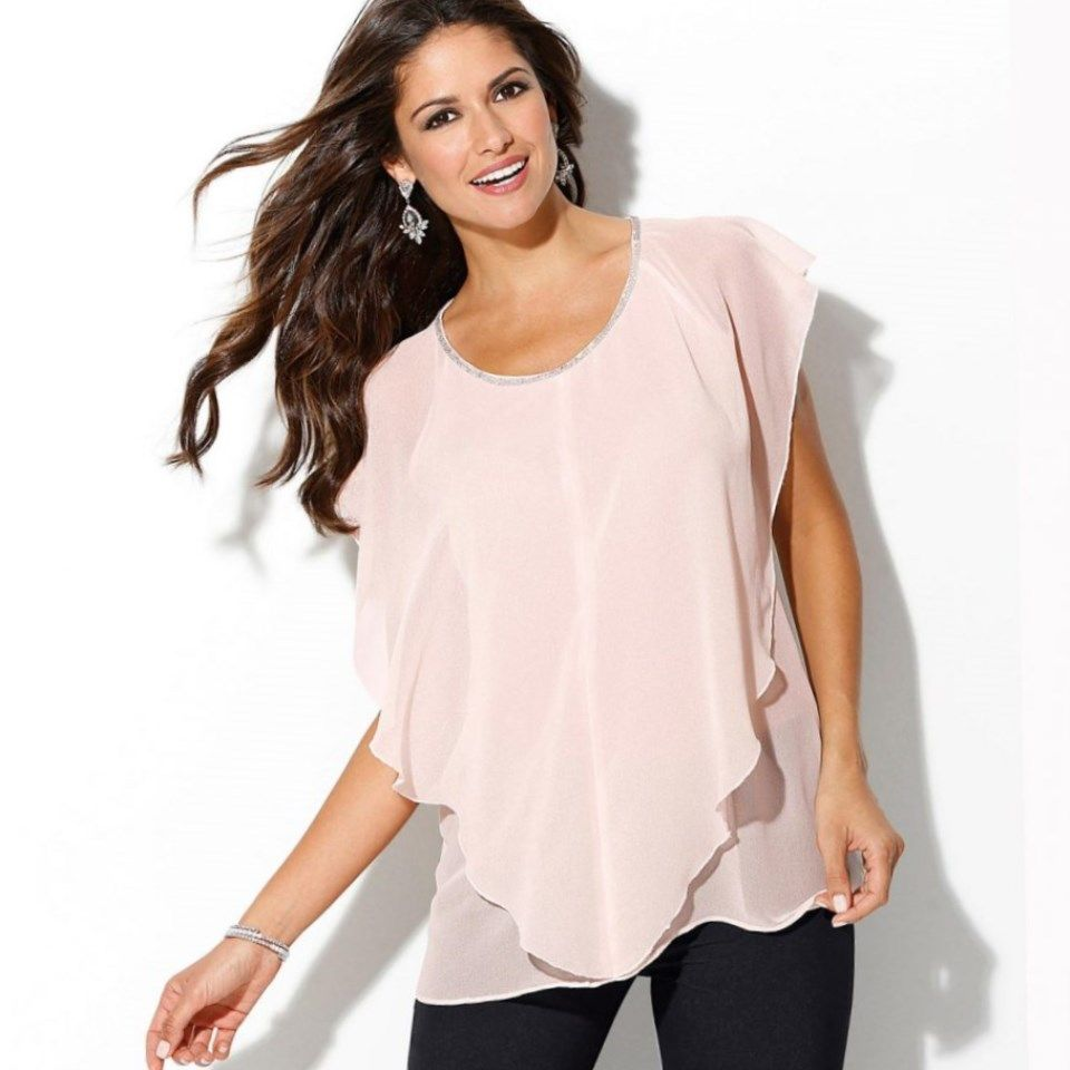 Bluse festlich große größen #trend #damenmode #GroßeGrößen ...