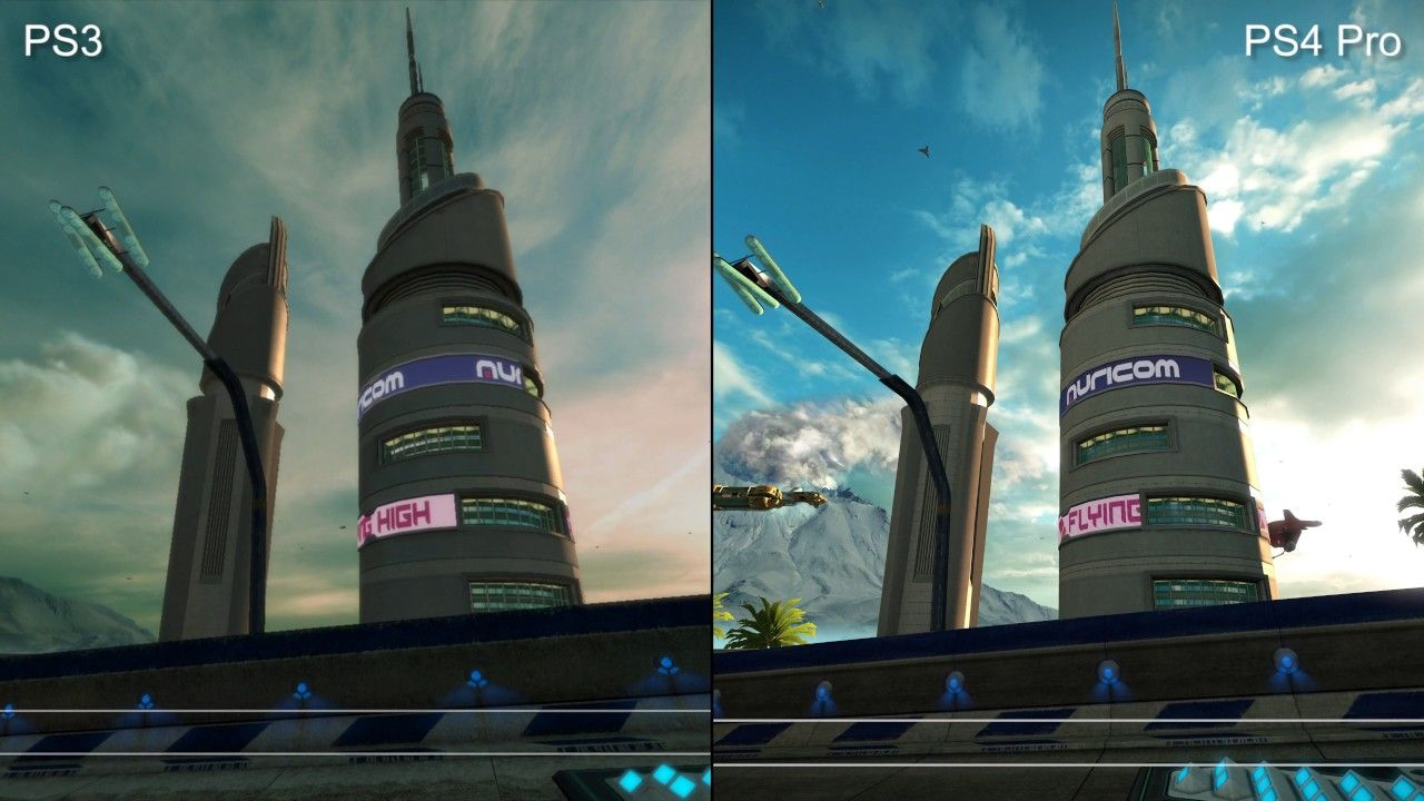 WipEout Omega Collection: PS4/Pro/PS3/Vita - Graphics Comparison ...