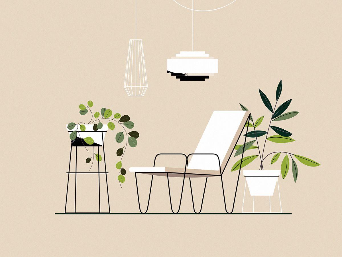 Electric Relaxation On Behance Con Imagenes Bocetos De Diseno