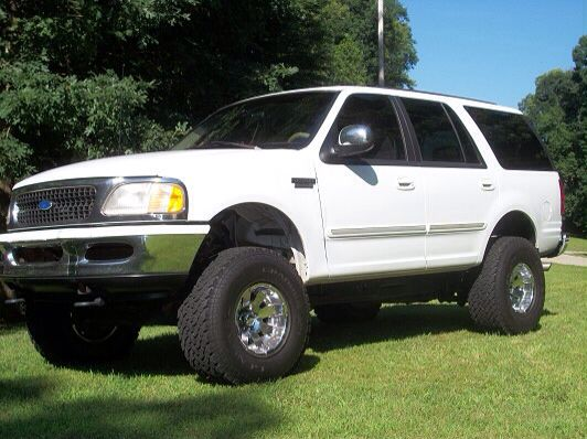 White Lifted Expedition Ford Expedition Ford Excursion Expedition