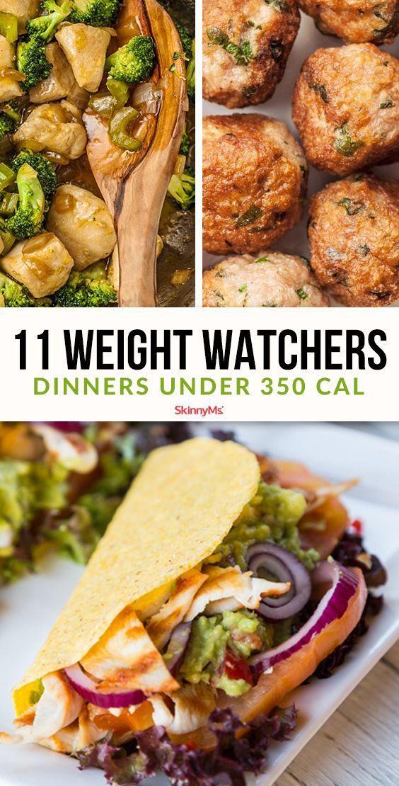11 Weight Watchers Dinner Ideas Under 350 Calories