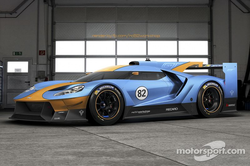 Ford Gt Le Mans Fictional Livery Ford Gt Le Mans Ford Gt