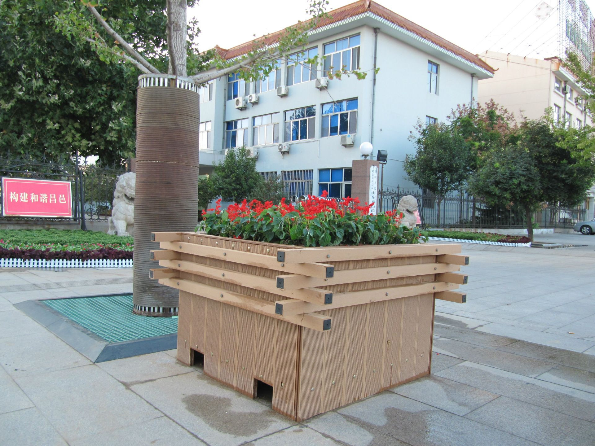 composite wood flower boxes, of outdoor wood plastic composite flower boxes, outdoor wpc flower box,Guatemala,Puerto Barrios customized wooden flower boxes #woodenflowerboxes