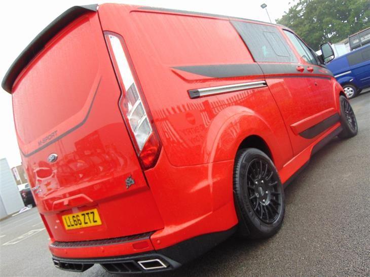 Used 2016 Ford Transit Custom 290 L2 M Sport Double Cab 2 2 Tdci