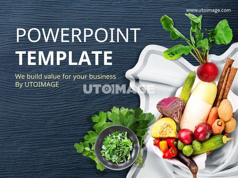 파워포인트 배경 음식 건강해지는 음식 Btppt399 유토이미지 파워포인트 채소 무 오이 양배추 감자 당근 파프리카 피망 가지 호박 음식 건강 건강식 자연 야채 Ppt표지 Ppt배경 첫페이지 건강식 음식 건강