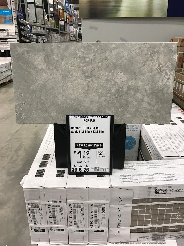 american olean stoneview sky gray at