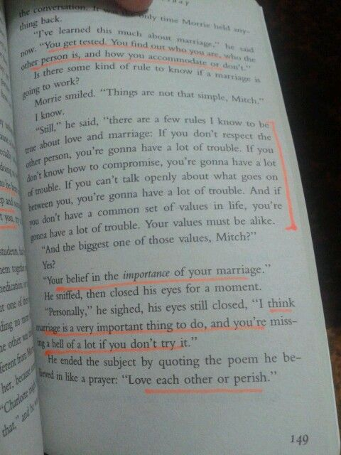 Love And Marriage Tuesday With Morrie
