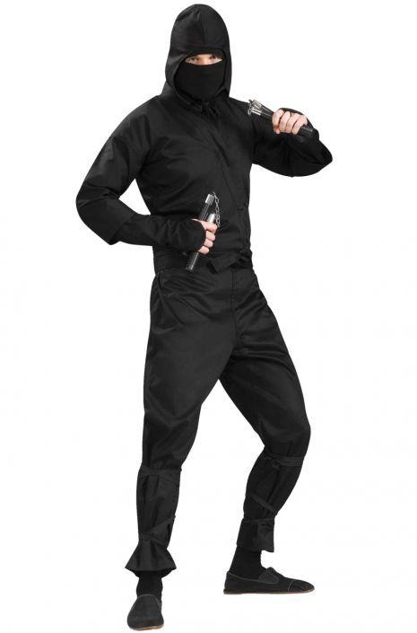 Ninja Deluxe Adult Costume Costumes - halloween costumes ideas men