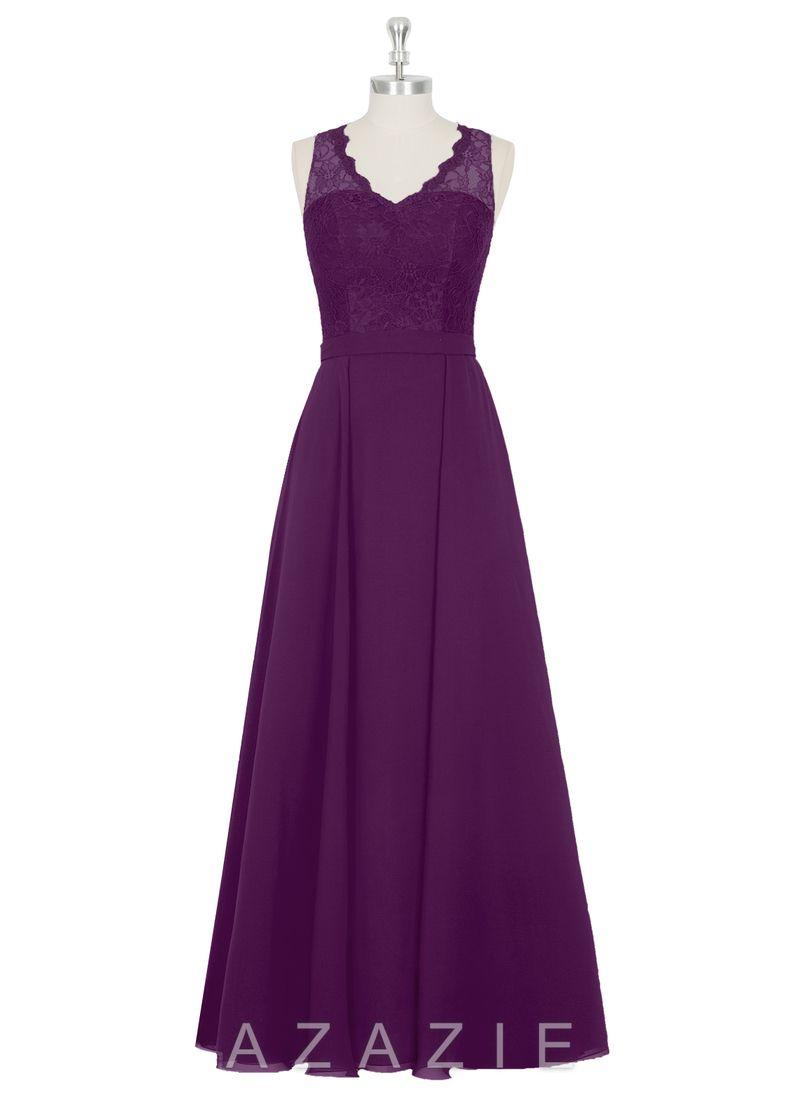Azazie Britney | Vestidos lila morado largos/ Long lilac purple ...