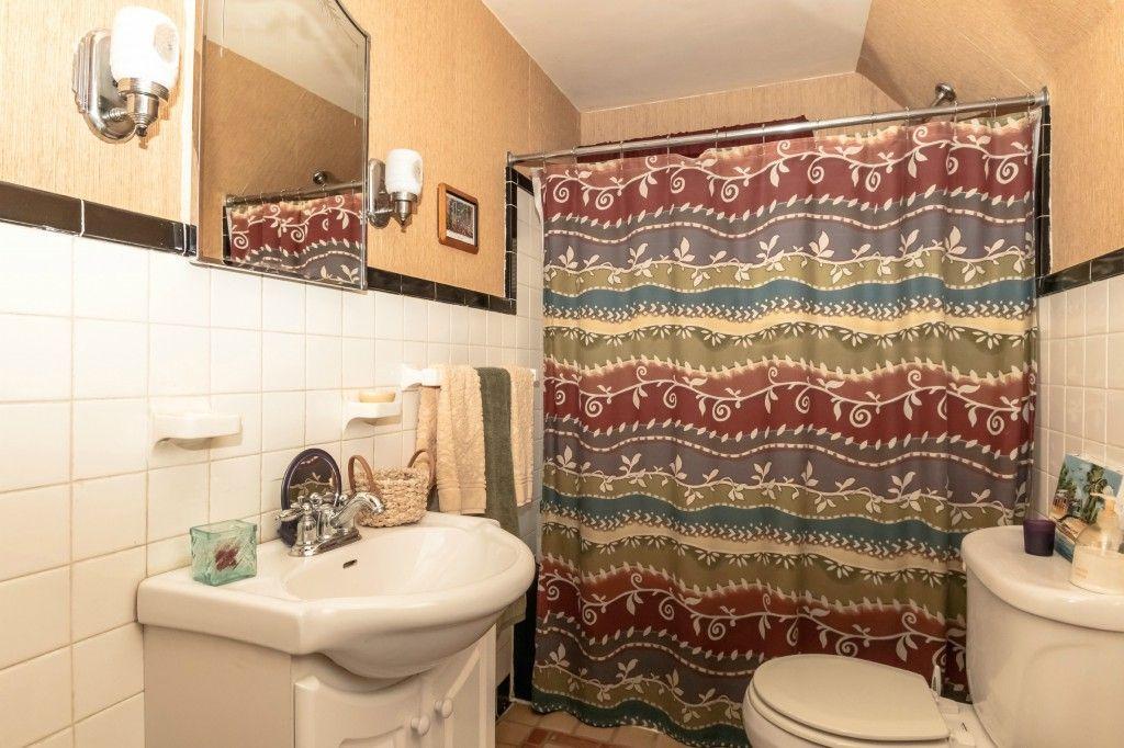 Bathroom Printed shower curtain, Colonial house, Bathroom