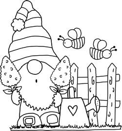 Gnome Clip Art 38 Magical Clip Art Or Line Art Free In 2021 Clip Art Free Clip Art Art