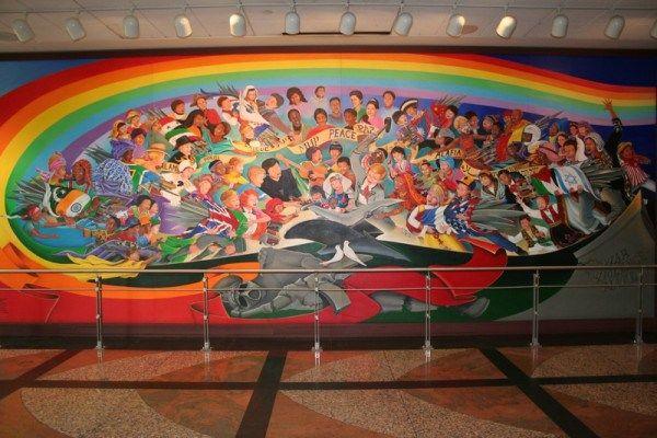 Arte Do Aeroporto Denver, Apologia à Nova Ordem Mundial. Part 45
