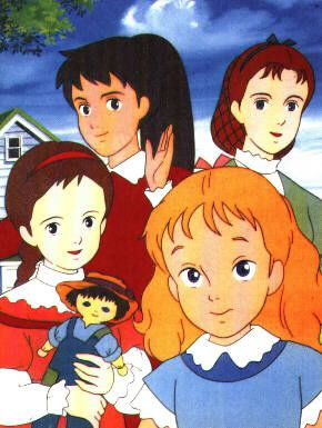 Les Quatre Filles Du Dr March Vieux Dessins Animes Dessin Anime