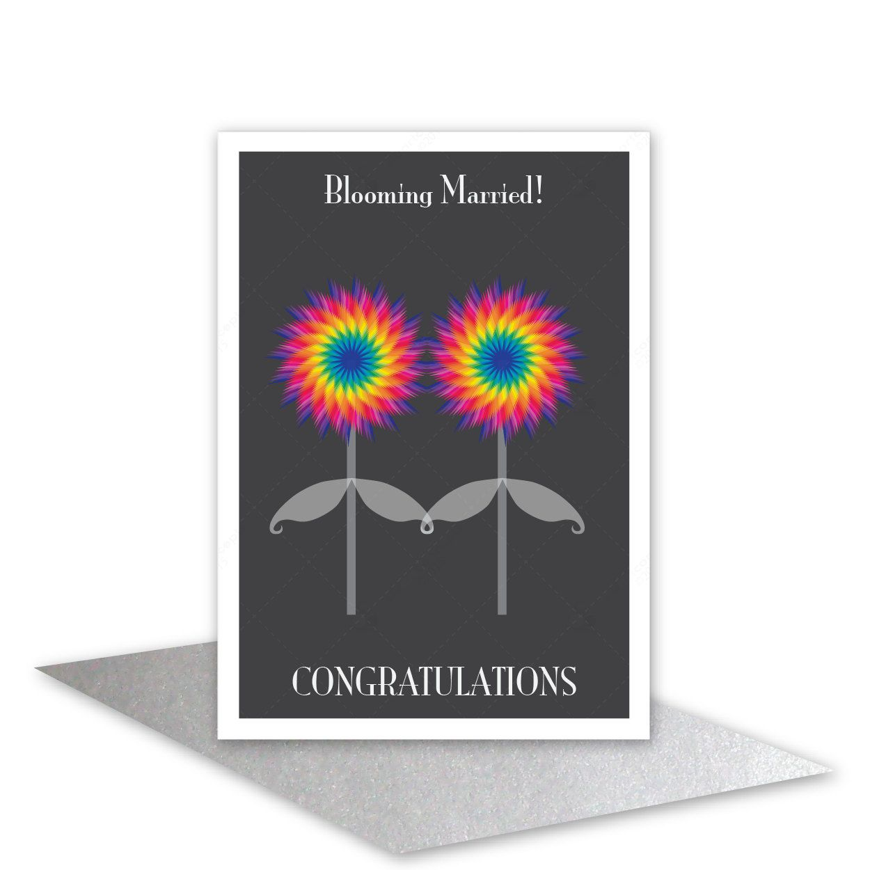 Gay Wedding Card Lesbian Wedding Card Gay Greeting Card Lgbt