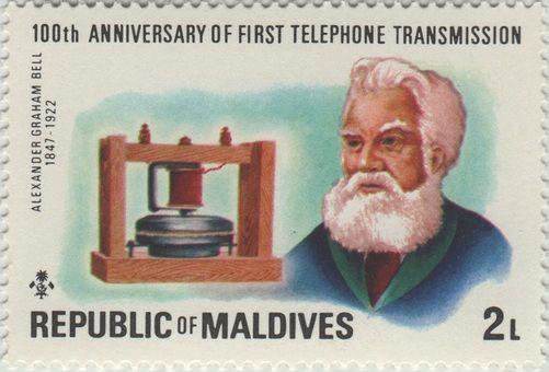 Maldives Alexander Graham Bell