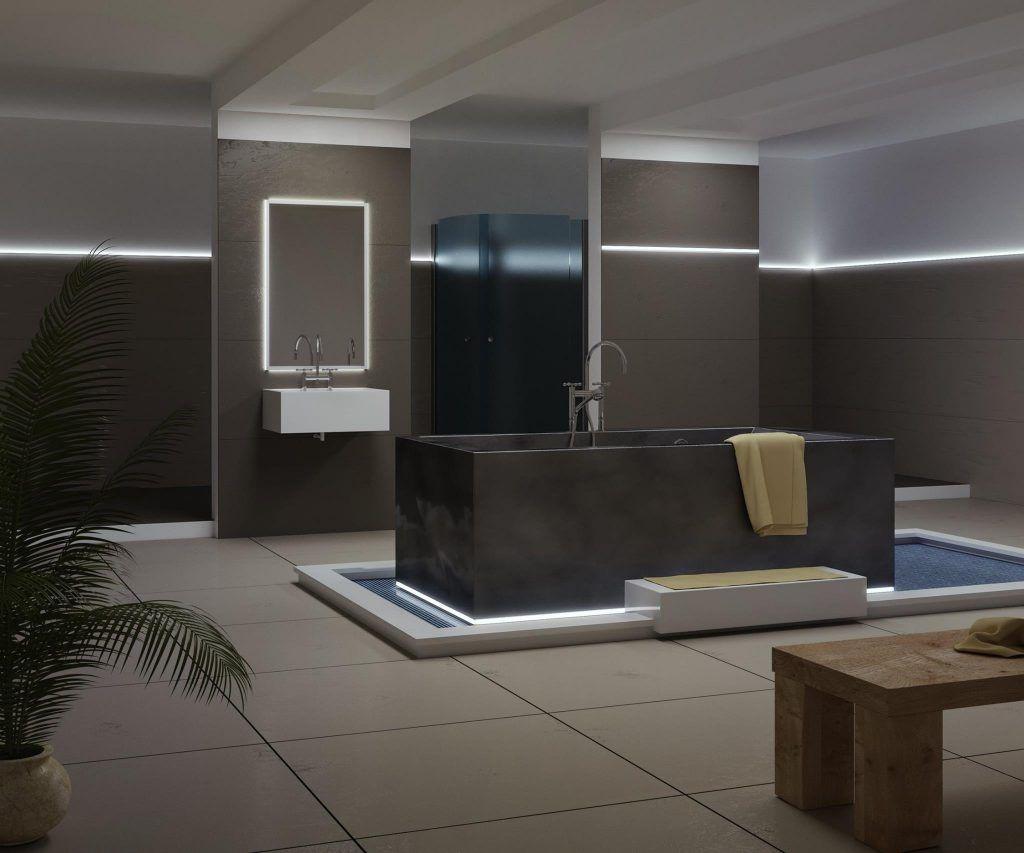 Illuminare la propria casa è anche un modo di decorarla con la linea ...