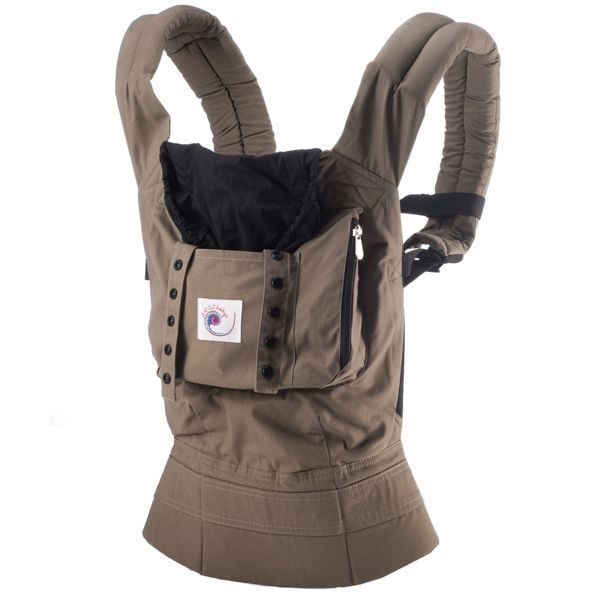 691df1b1e4a9 Ergo Baby Carrier - this would rock! You can wear it with the baby in the  back...just think how much stuff I could get done!!