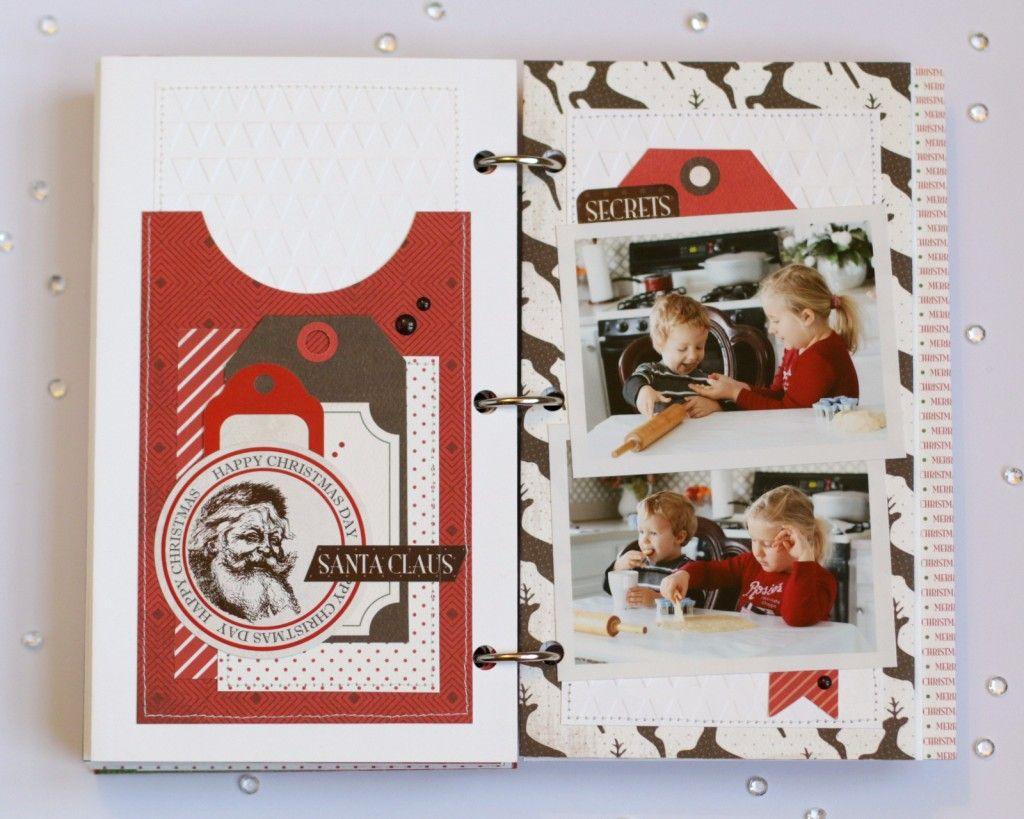 "December Daily ""Have a Merry Christmas"" Mini Album by Anya Lunchenko for #CartaBellaPaper"