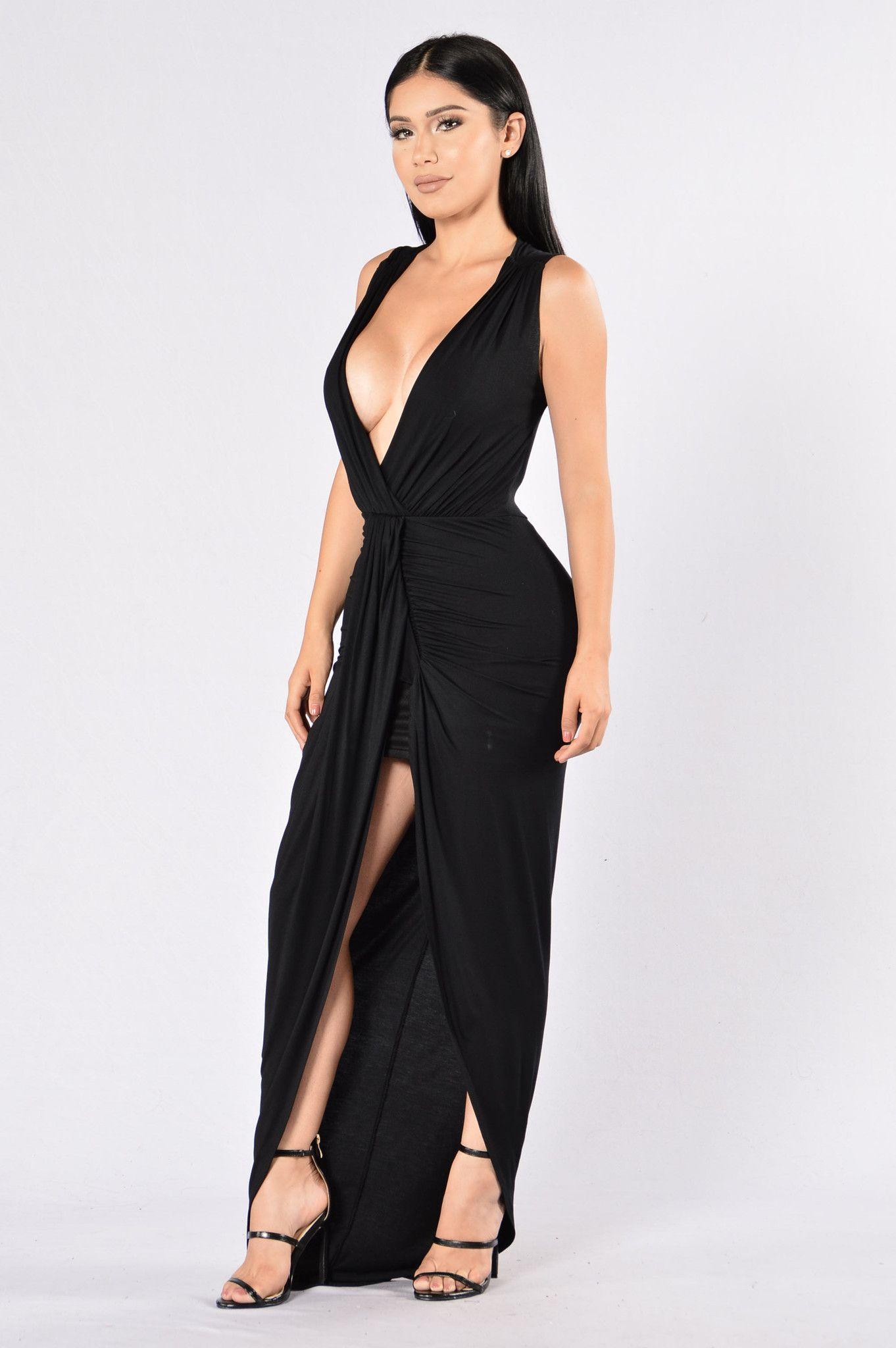 Mother Earth Dress - Black