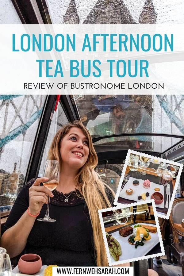 Photo of Bustronome London – an afternoon tea bus tour with a view ⋆ Fernwehsarah