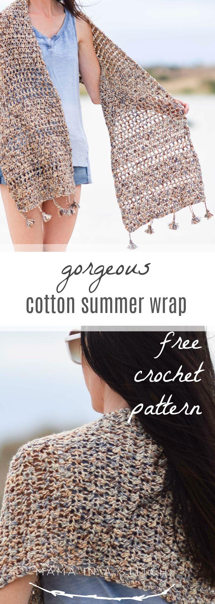 Wanders Wrap – Summer Shawl Crochet Pattern