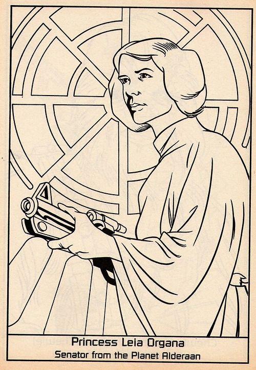 Princess Leia Organa. Senator from the Planet Alderaan. Tomado del ...