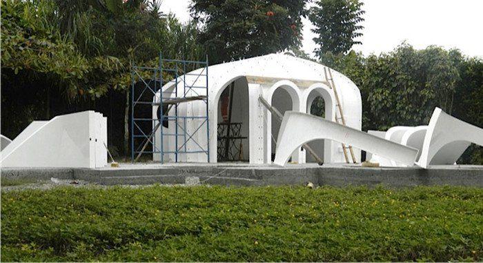 une maison de hobbit en kit partir de 14 000 euros vous en rviez ils lont invente