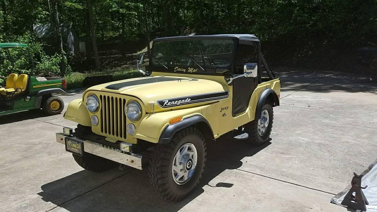 ebay 1972 jeep cj cj 5 1973 jeep cj5 304 v8 jeep jeeplife [ 1200 x 675 Pixel ]