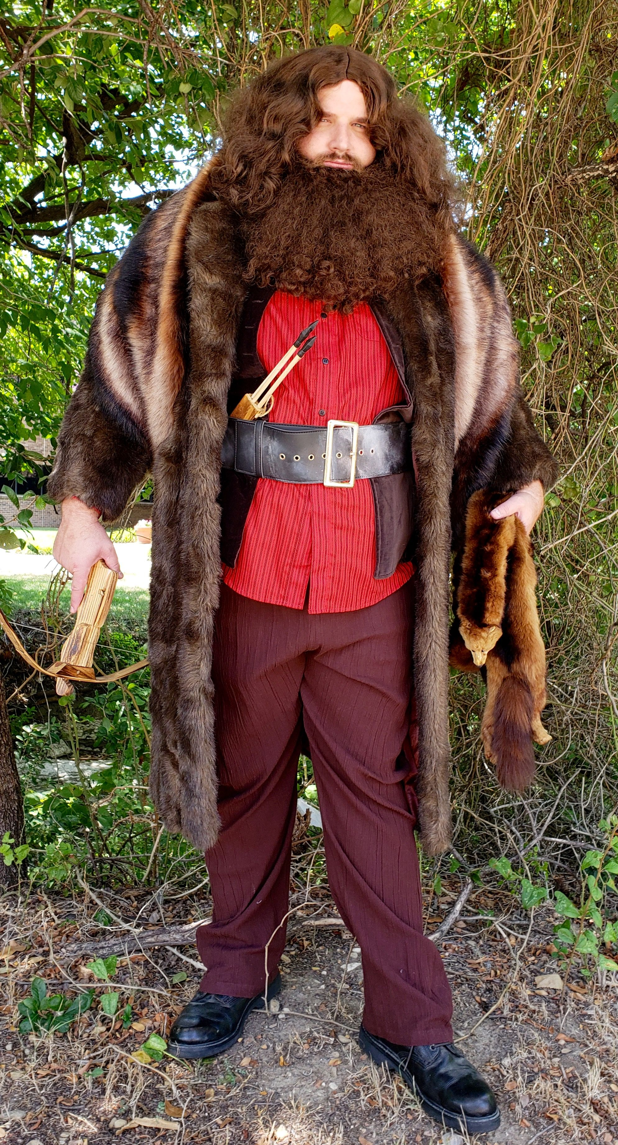 Rubeus Hagrid Cosplay Costume, Harry Potter Characters and