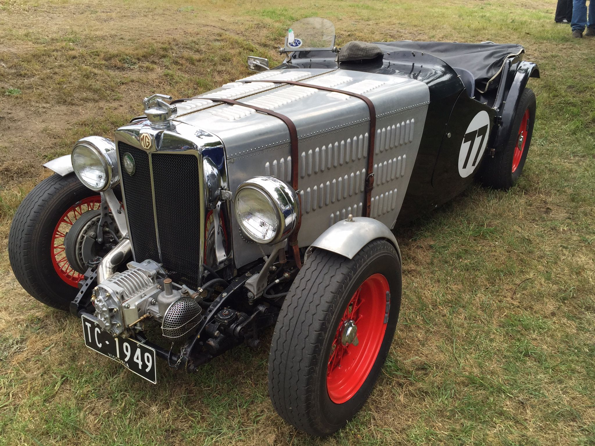 1949 MG TC Special | MG Cars | Pinterest | Cars, Vintage racing and ...