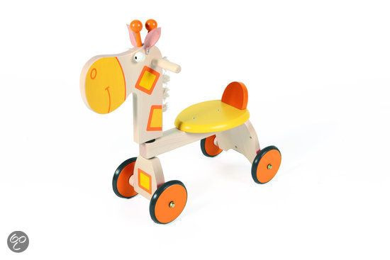 bol.com   Scratch Move-It 4-Wheel Walker - Loopfiets - Giraf   Speelgoed