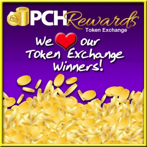 The PCHBlog Says.......Token Exchange Winners.....(Smiles