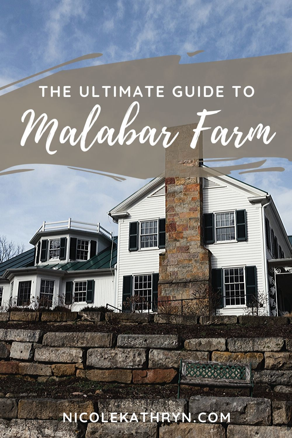 Considered one of America's most famous farms, yet somehow not widely known in Ohio; Malabar Farm State Park is a little hidden gem halfway between Cleveland and Columbus.Visit Ohio author Louis Bromfield's home or check out some spots from the Shawshank Redemption. // #malabarfarm #statepark #ohio #travel #guide #louisbromfield