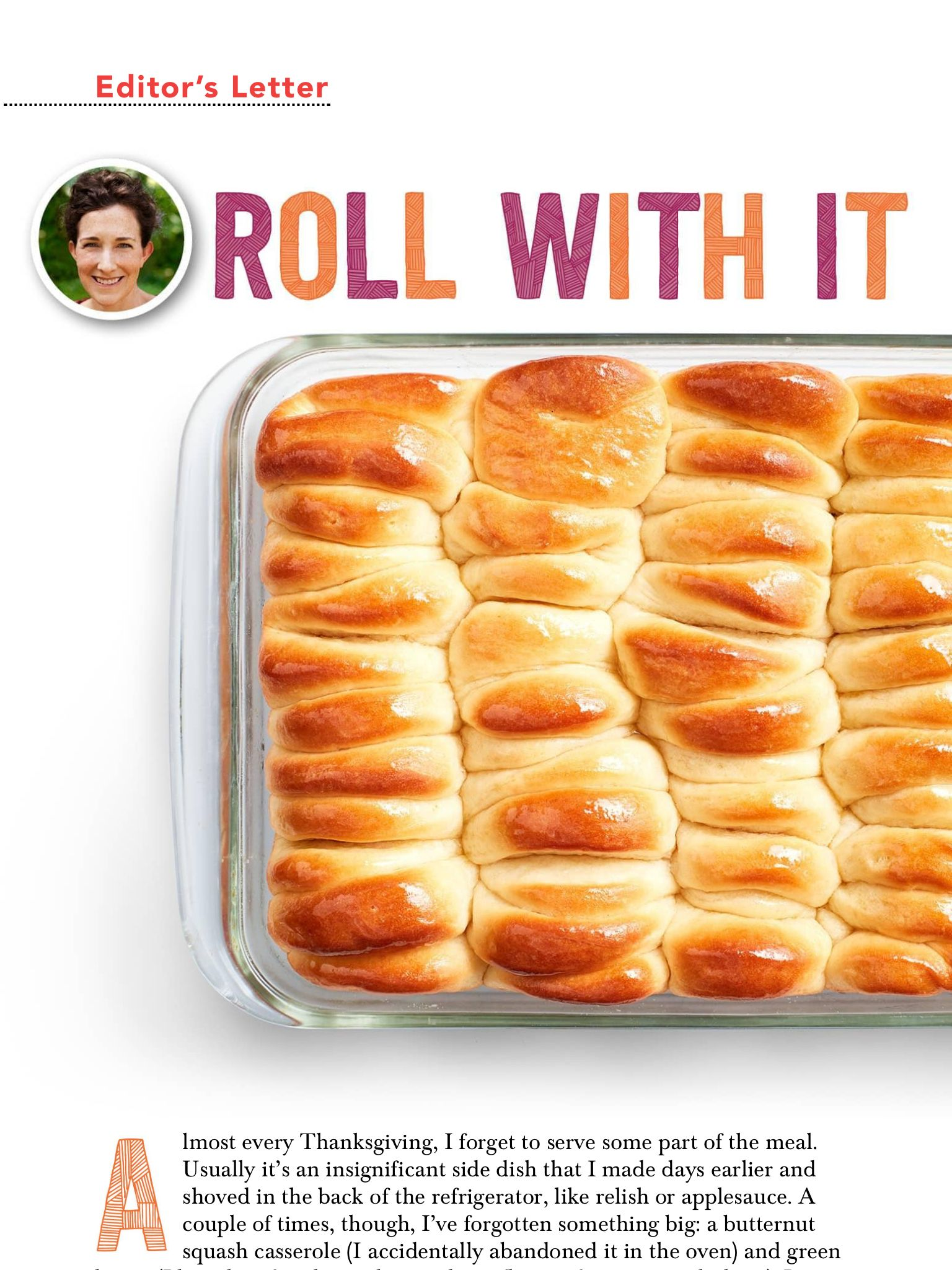 Roll With It From Food Network Magazine November 2017 Read It On The Texture App Unlimited Access To 200 T Food Network Recipes Food Network Magazine Food