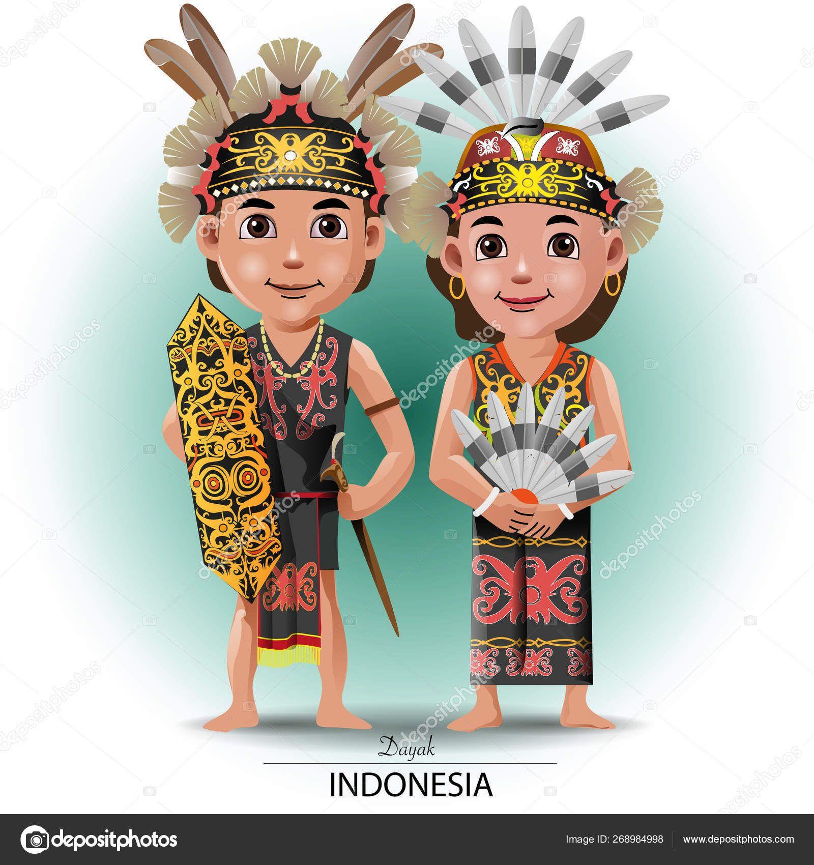 Pakaian Adat Tradisional Kalimantan Selatan