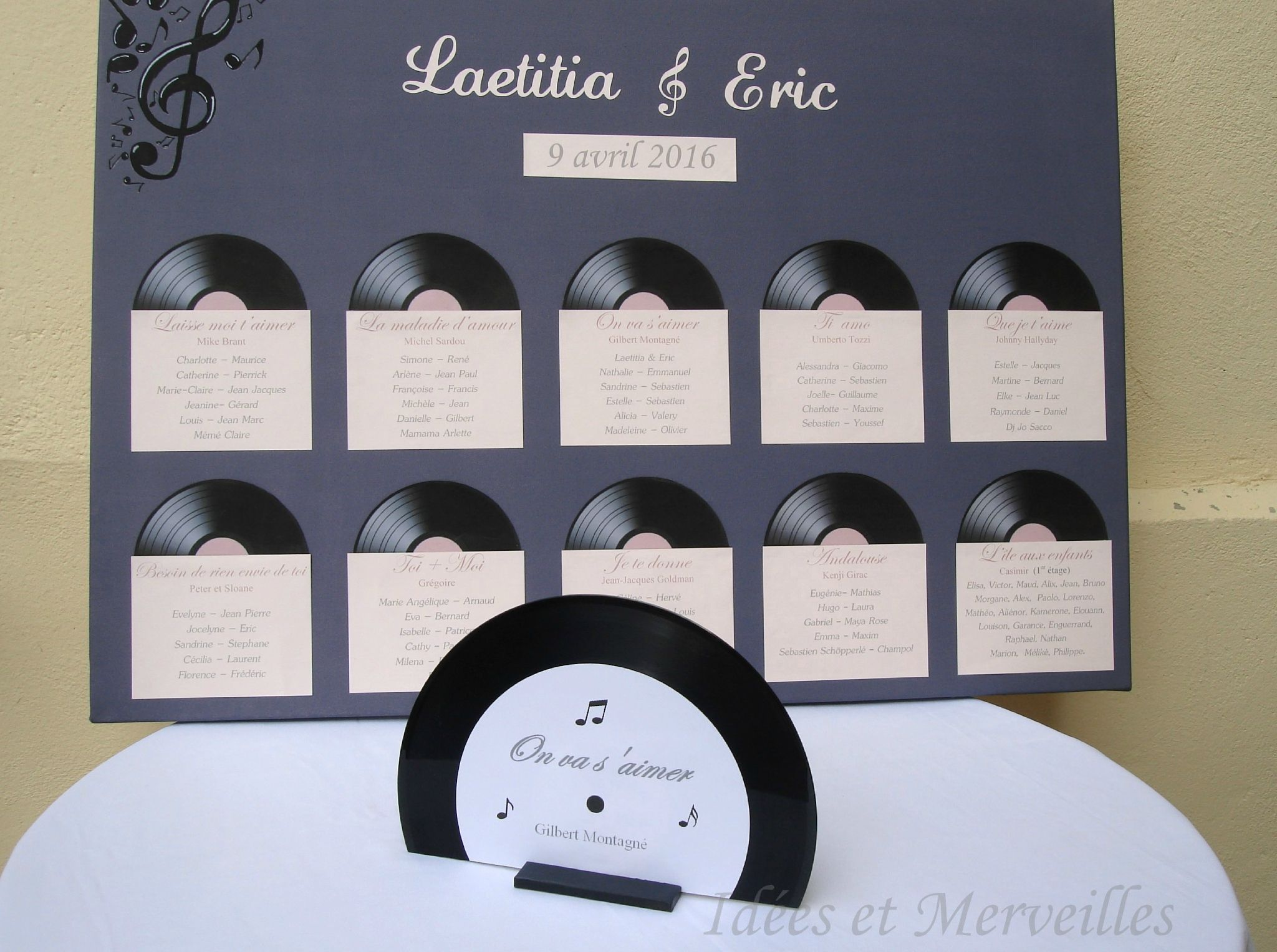 Centre De Table Disque Vinyle Idees Et Merveilles Vinyle Pinterest Mariage Wedding And