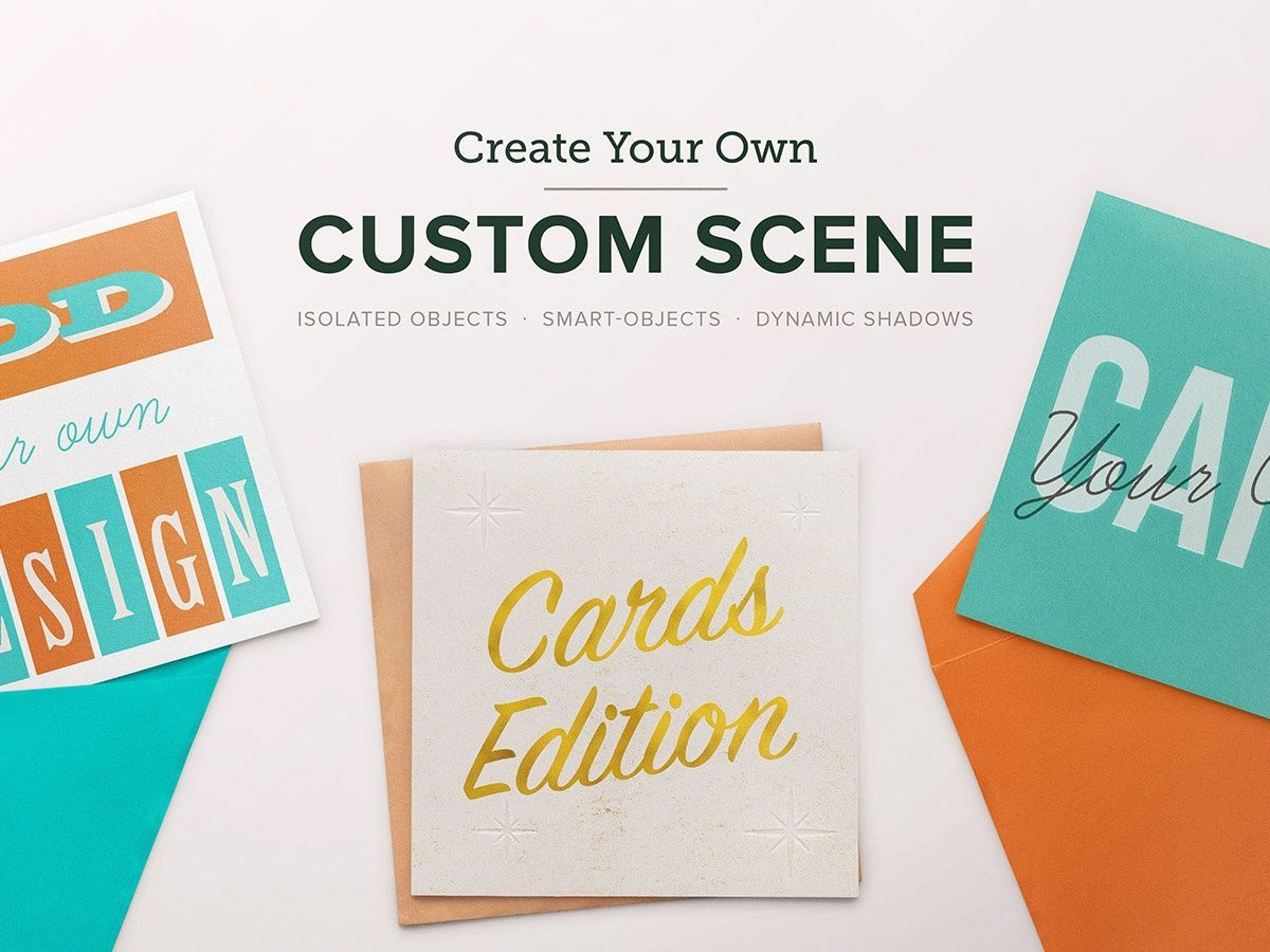 Custom Scene - Card Ed. - Volume 1