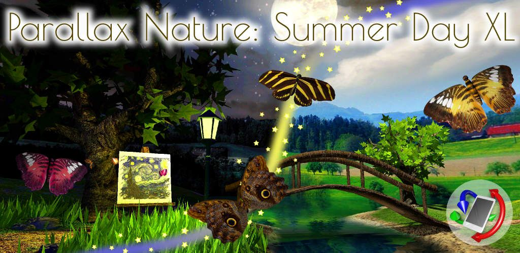 טפט חי לקיץ - Parallax Nature: Summer Day 3D | Nature ...
