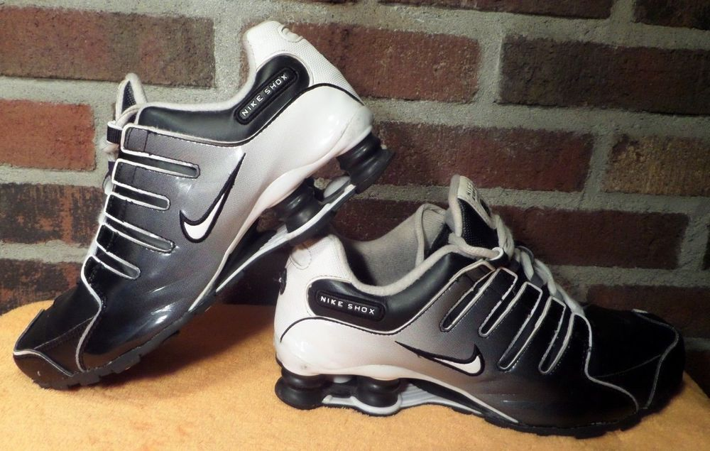 dd6609041d2a NIKE SHOX NZ SI PLUS GS (KIDS) Running 317929-011 Size 7Y  WMS 8.5 GUC  SHARP!  Nike  AthleticRunningShoes