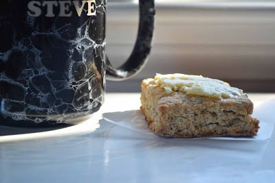 Bakeaholic Mama: Maple Oat Scones w/ Whipped Maple Butter