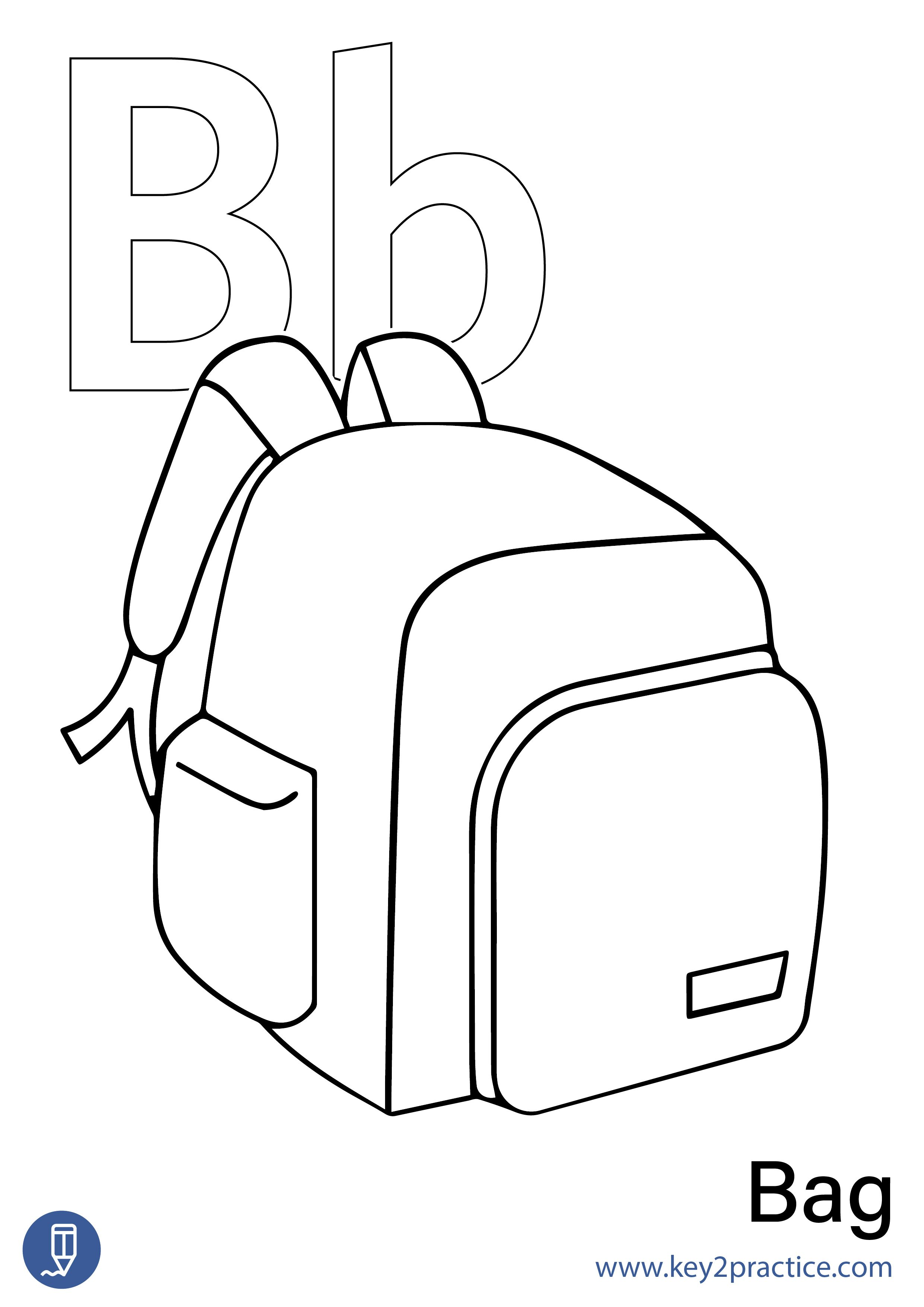 Colouring Sheets On Alphabets For Kindergarten In