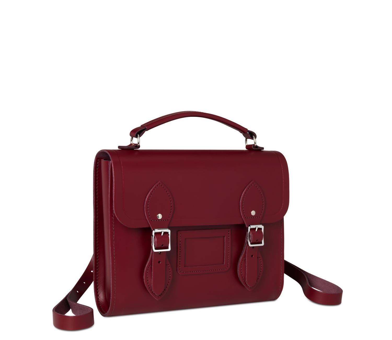 Rhubarb Red Barrel Backpack | The Cambridge Satchel Company