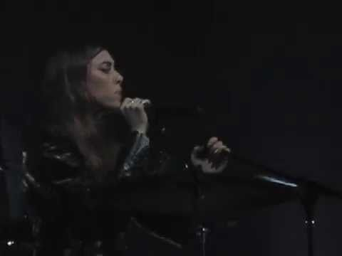 """Lykke Li performing Drake's """"Hold On, We're Going Home"""" live at Hammersmith Apollo, London on November 13th, 2014."""