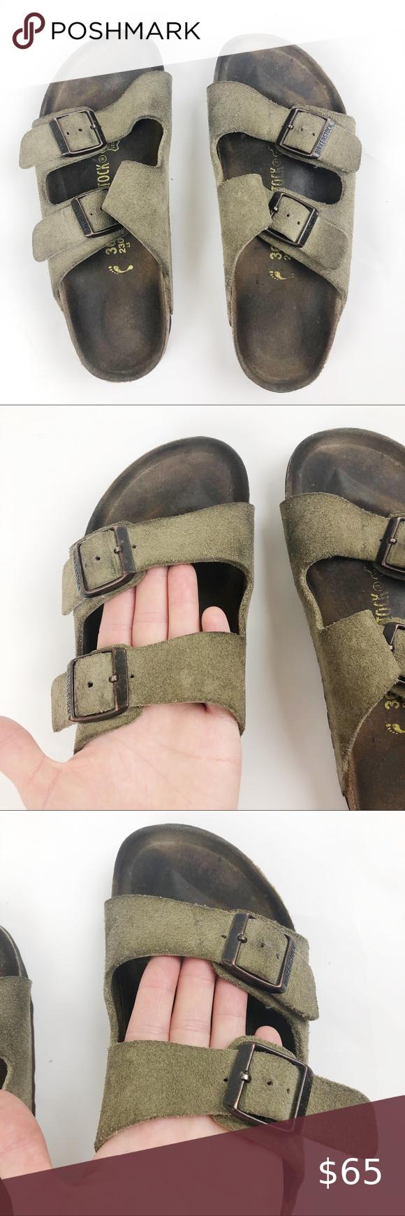 Birkenstock Arizona Tan Sandals Narrow