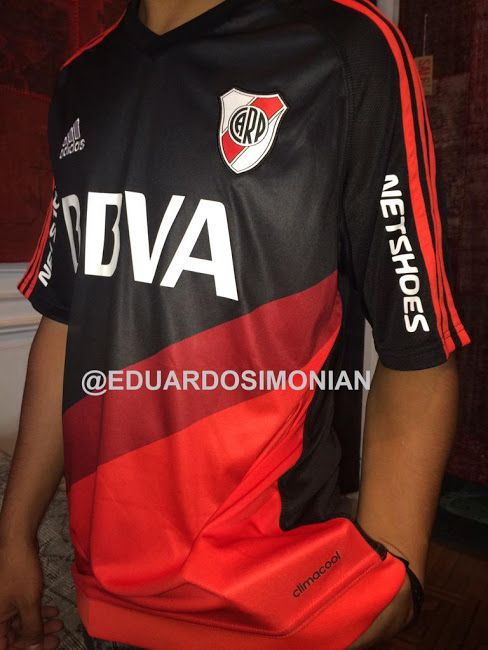 Camiseta suplente River Plate 2015 16  52e6318d72246
