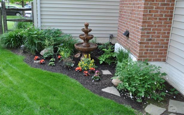 Aceras alrededor de la casa aceras de plantas for Ideas paisajismo jardines