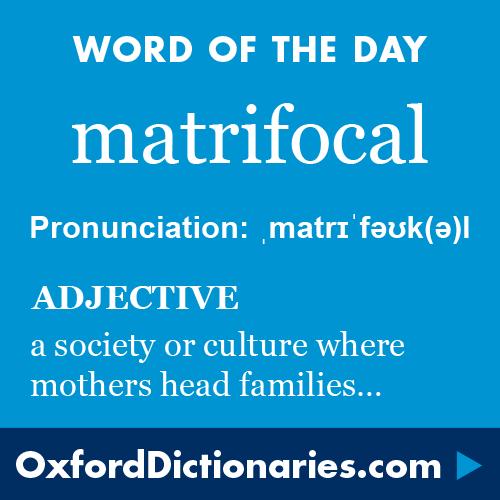 matrifocal definition