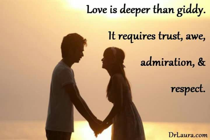 Trust Awe Respect Relationship Trust Awe