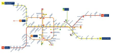 Brussels Metro Map thinks i love Pinterest Brussels Train car