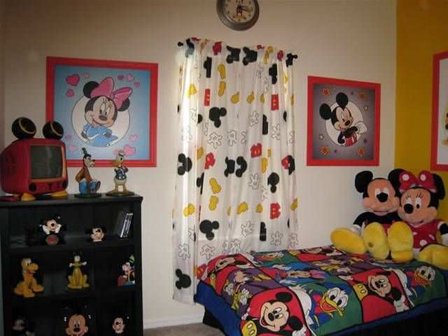 disney kids room decor - Disney Bedroom Designs